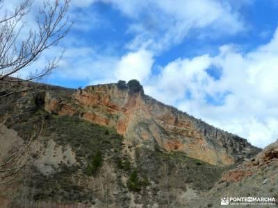 Cañón Caracena; Encina  Valderromán; rutas con niños por madrid senderismo ropa excursion ruta d